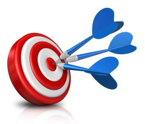 Social media strategy - hitting the target